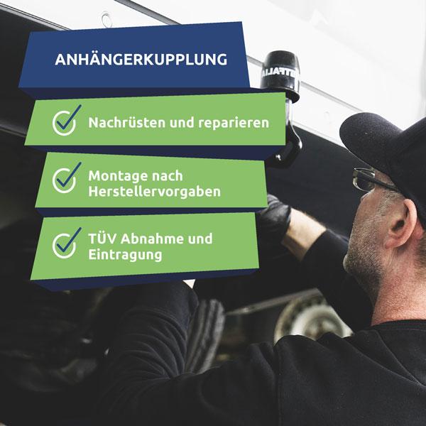 Anhängerkupplung nachrüsten in Rostock