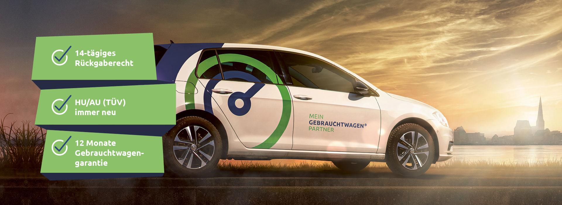 Gebrauchtwagen in Rostock kaufen. Unsere Gebrauchtwagen haben alle einen gültigen TÜV.