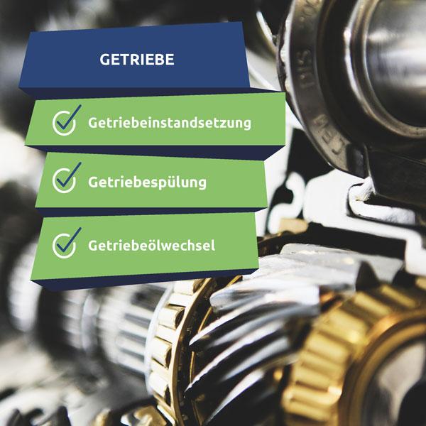 Getriebeinstandsetzung und Getriebespülung in Rostock