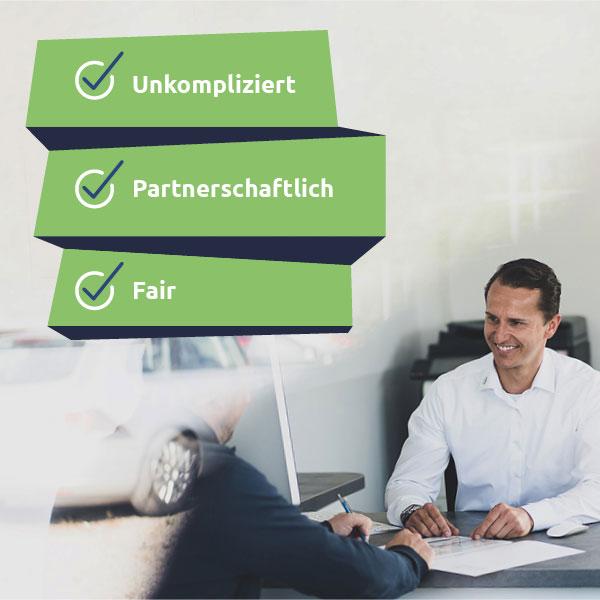Service und Beratung bei Mein GebrauchtwagenPartner in Rostock