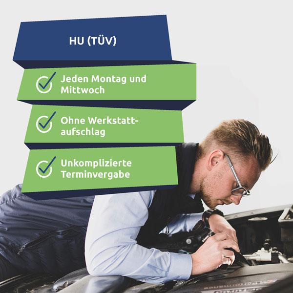 TÜV in Rostock machen lassen. Vereinbare jetzt einen TÜV Termin online.