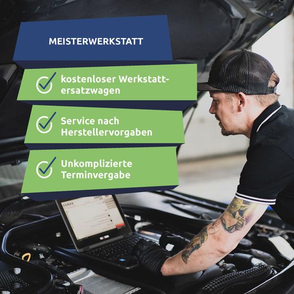Werkstatt in Rostock: In unserer Meisterwerkstatt setzen wir alle Fahrzeugtypen instand.